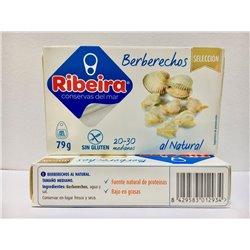 Berberechos al Natural 20/30 Ribeira Selección.