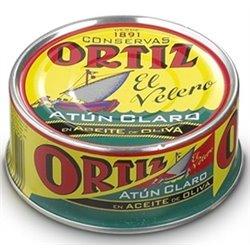 Atún Claro en Aceite de Oliva Ortiz