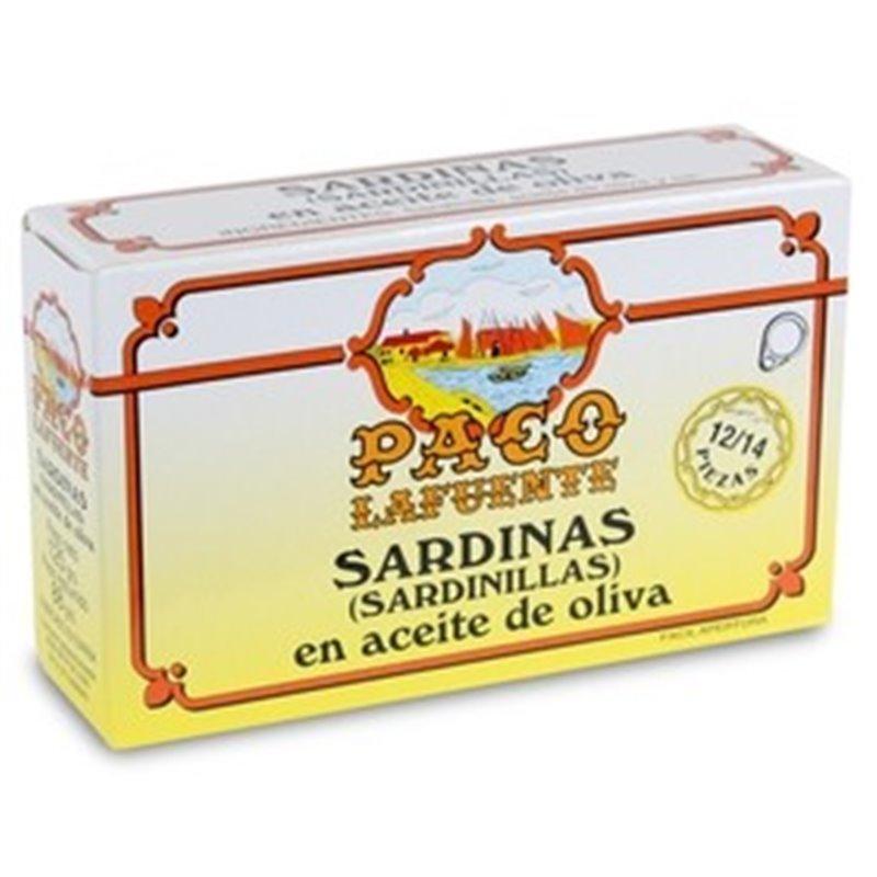 Sardinillas en Aceite de OlivaPaco Lafuente