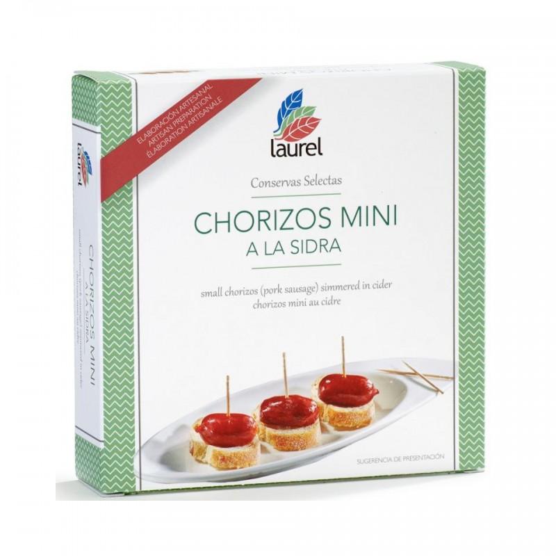 Chorizos Mini a la Sidra 280Gr.