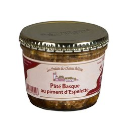 Paté Vasco con Pimiento de Espelette 180Gr.